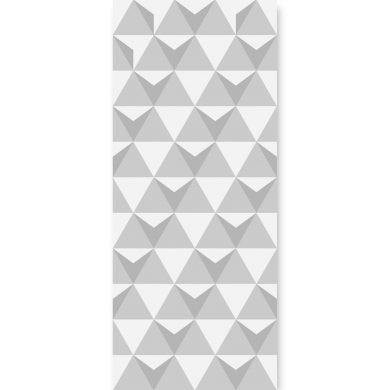 Tapeta ścienna Triangulars Grey II | myMODULO.pl