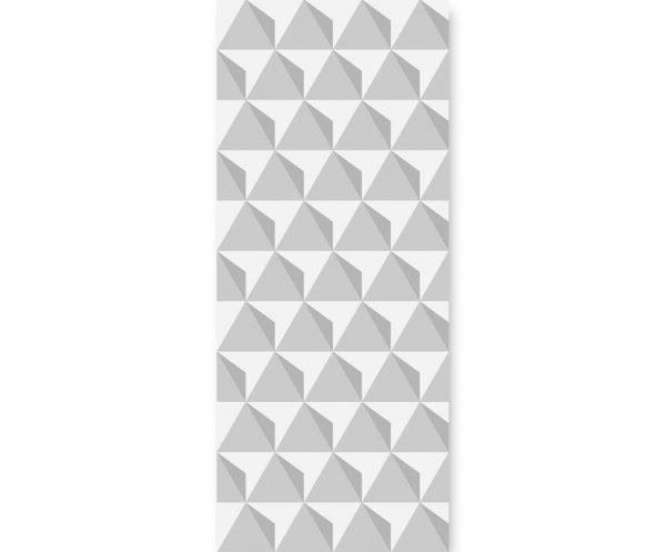 Tapeta ścienna Triangulars Greym panele ścienne | myMODULO.pl