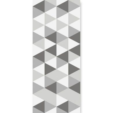 Tapeta ścienna Hexagons Short Grey   myMODULO.pl