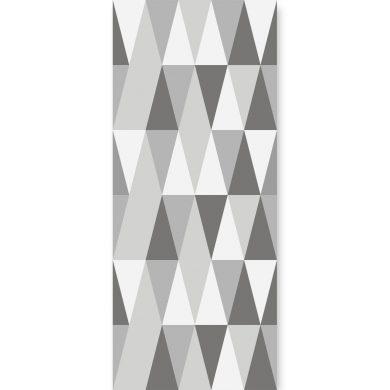 Tapeta ścienna Hexagons Long Grey | myMODULO.pl