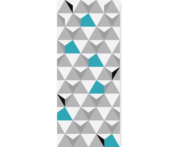 Tapeta ścienna Turquoise Triangulars | myMODULO.pl