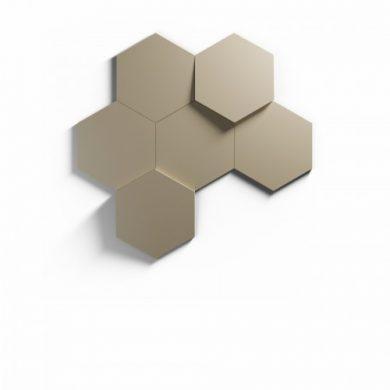 Heksagon panel ścienny 3D Kalithea | myMODULO.pl
