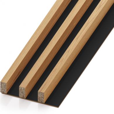 Lamele drewniane - pakiet 3M (rozstaw 40 mm) | myMODULO.pl