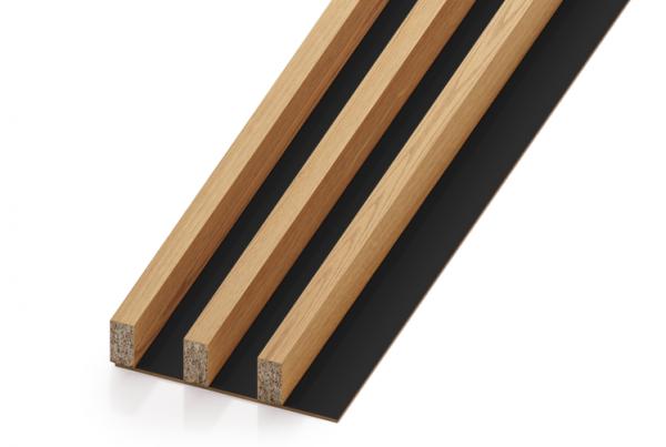 Lamele drewniane - pakiet 3M (rozstaw 40 mm)   myMODULO.pl