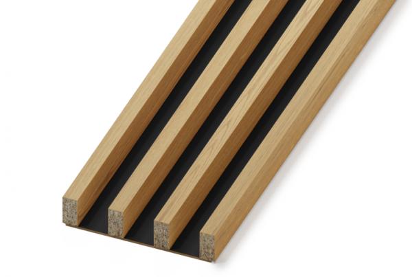 Lamele drewniane - pakiet 4M końcowy   myMODULO.pl