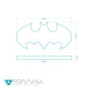 Batman panel piankowy