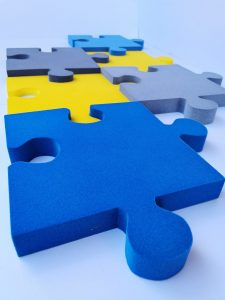 Panele piankowe Puzzle z pianki poliuretanowej | myMODULO.pl