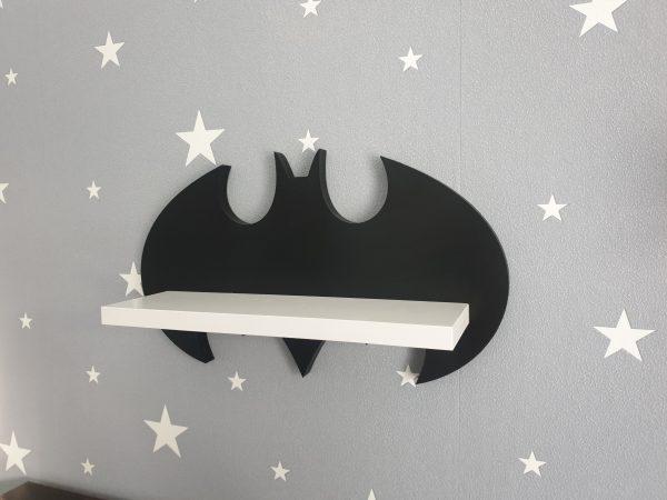 Batman - półka drewniana do pokoju dziecka | myMODULO.pl