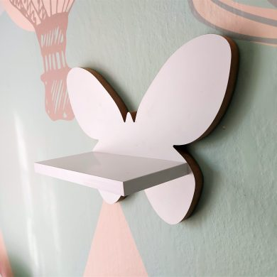 Drewniana półka w kształcie Motylka | myMODULO.pl