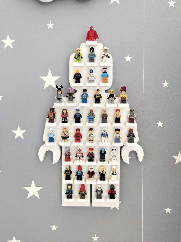 Półka - ekspozytor na ludziki LEGO   myMODULO.pl