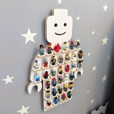 Półka - ekspozytor na ludziki LEGO | myMODULO.pl