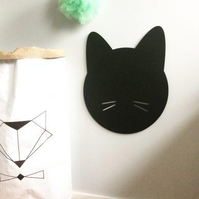 Głowa kota - tablica kredowo-magnetyczna | myMODULO.pl