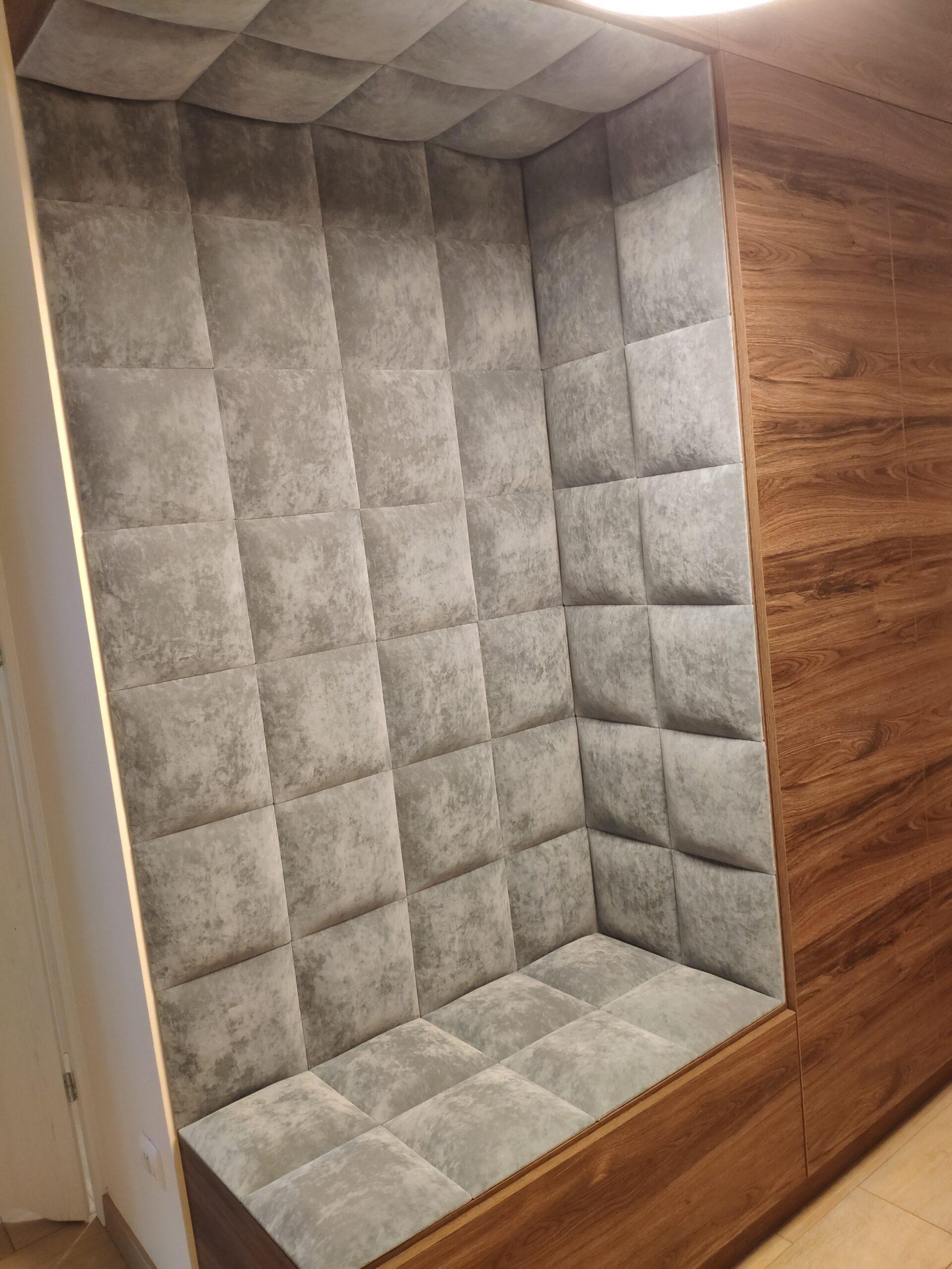 Wnęki tapicerowane, siedziska