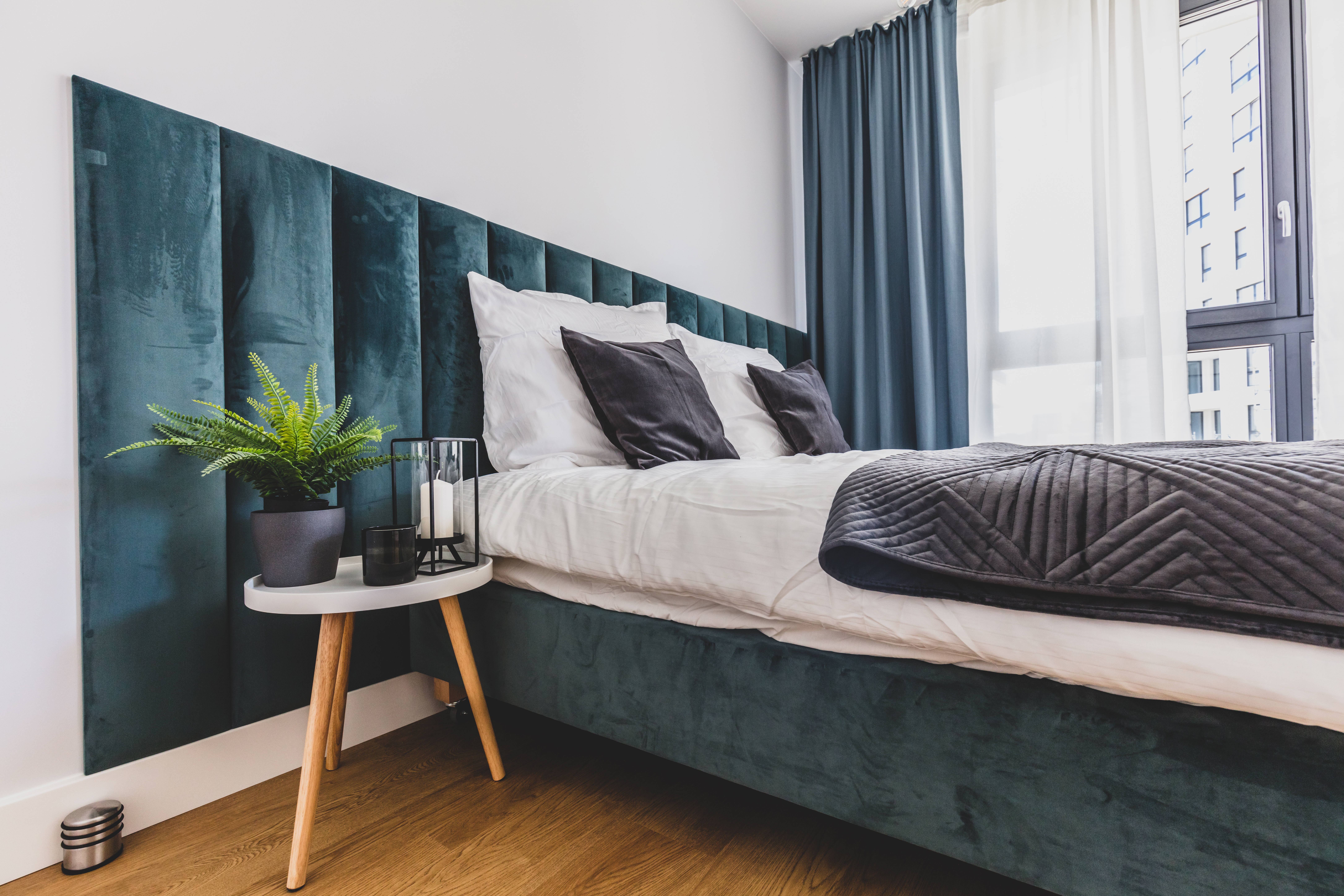 Panele, zagłówki i łóżka tapicerowane