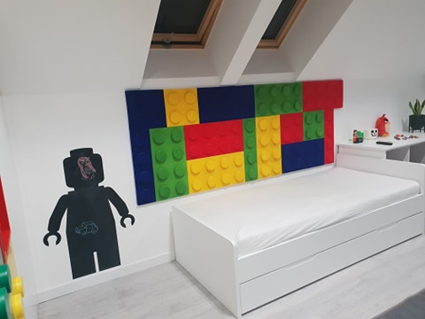 Panele ozdobne na ściane w formie klocków - dekoracyjne panele ścienne dostępne na myMODULO.pl