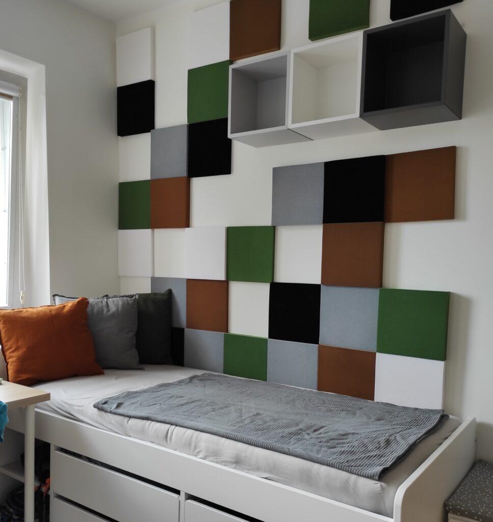 Panele kwadratowe w stylu gry Minecraft - myMODULO.pl